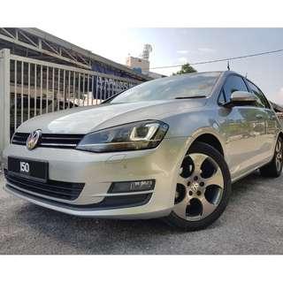 Volkswagen Golf 1.4 MK7 2014