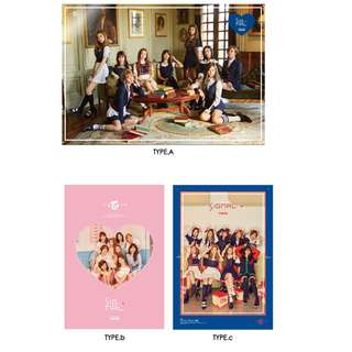 twice Signal posters all versions