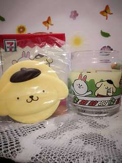 Limited cutie glass container~pompompurin~