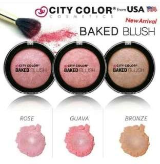 City color baked blus guava