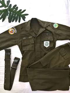 ROTC Uniform Costume