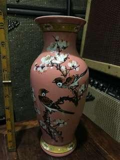 古董花瓶 花鳥