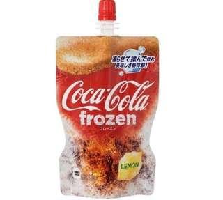 日本直送 可口可樂檸檬沙冰