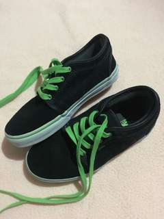 Authentic Vans shoes Chukka Low ( used once ) good as super new