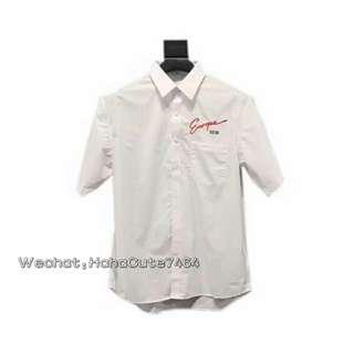 (价格私询)新品 Blcg couple 18ss 短袖半袖衬衫