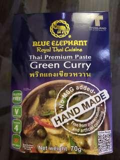 Thai Premium taste Green curry (Hand made)