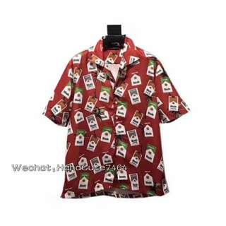 (价格私询)新品 Rhude 万宝路衬衫