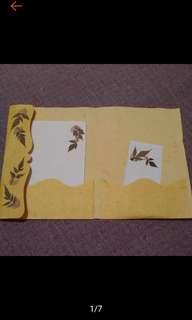 🚚 全新 楓葉標本 真楓葉 楓葉信封 信紙組
