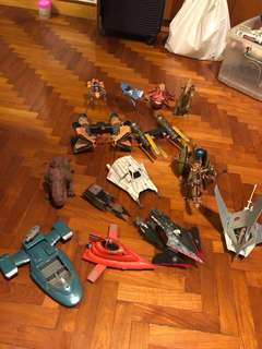 Star Wars Collectible Figures Loose