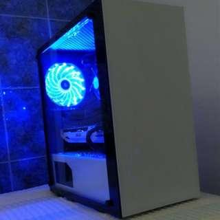 Custom Gaming PC (i3-8100 with GTX1060 3GB) ( Desktop NVIDIA AMD INTEL RGB MMORPG GAME FPS ASUS MSI GALAX ZOTAC SSD GTX1050 GTX1070 I3 I5 I7 RYZEN )
