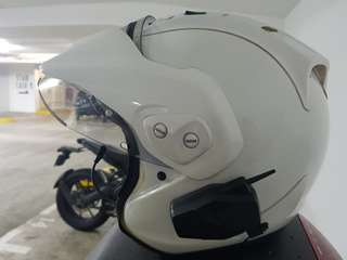 Arai CTR ram4 with peak size L (59-60cm)