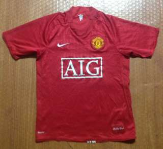 Nike Red Devils Football Jersey Authentic