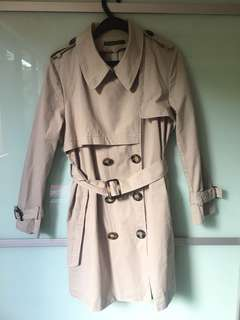 Trench Coat in Biege