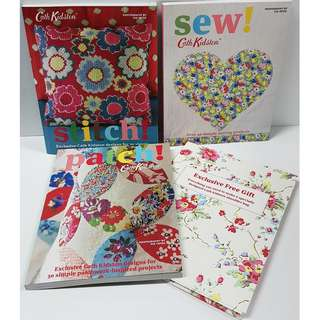 Cath Kidston Special Gift Set (3 craft books + free gift)