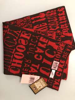 Juicy Couture scarf (100%wool)