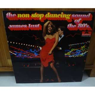 James Last Instrumental Vinyl LP Record The Non Stop Dancing Sound Of The 80s