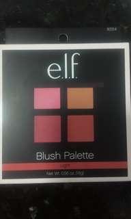 BN ELF blush palette light