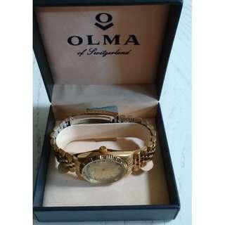 [父親節禮物] 瑞士老牌子(Olma)奧爾馬錶