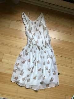 Zara Cat Dress size XS