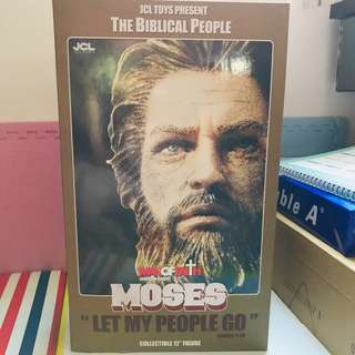 "*清屋* The Biblical People-Moses Collectible 12"" Figure 聖經人物人像"