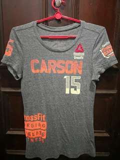 Gray Reebok Crossfit Tee for women