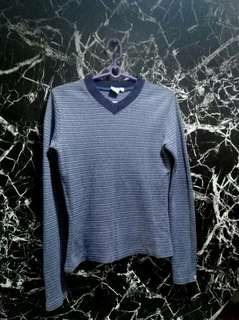 blue stripes longsleeve