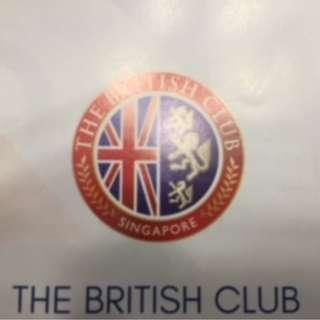 The British Club (Singapore) Transferable Membership