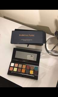 Anastasia Beverly Hills 'subculture palette' NEW