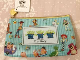 💐全新日本迪士尼Toy story 防水化妝包💐
