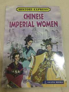 Chinese Imperial Woman Comic Book