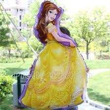 3ft Disney Pricess Foil Balloon sold per piece