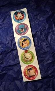貼紙 正版迪士尼貼紙 (包郵)