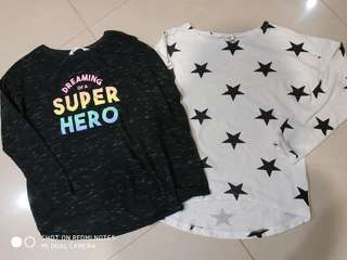 H&M Long Sleeve Shirt for 10-12y