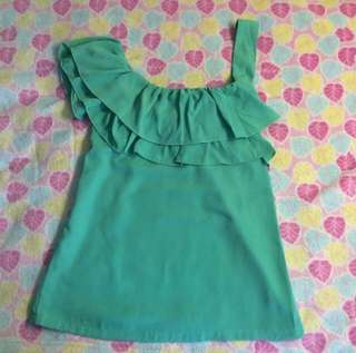 Sale Green Top