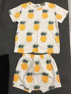 Pineapple Top & Bottom Set