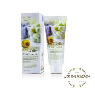 (PO) 3W Clinic Korea Olive Hand Cream