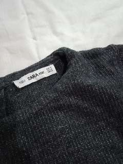 Zara Grey Knitted Top