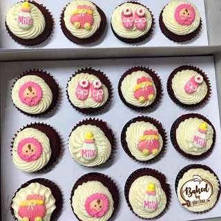 Baptismal Cupcakes ❤️