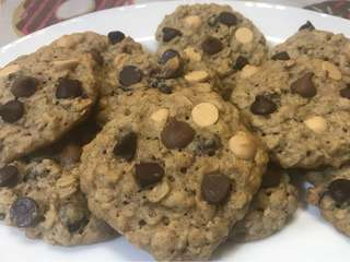 Cranberry Oatmeal Cookies with Imported Chocolate Chips