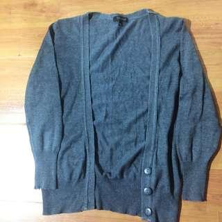 Dark gray TOPSHOP cardigan