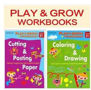 Kumon Grow and Play Books Set of 2