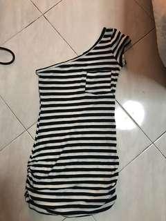 Forever21 toga stripe