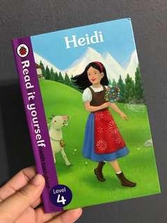 HEIDI by Ladybird