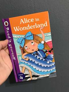 ALICE IN WONDERLAND by Ladybird
