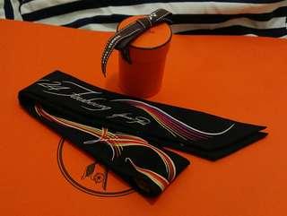 Hermes Twilly 愛馬仕絲巾