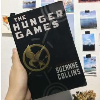 Hunger Games and Mockingjay by Suzanne Collins
