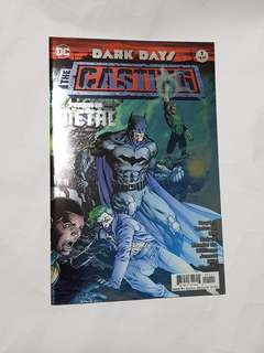 DARK NIGHTS DARK DAYS THE CASTING Foil Cover DC COMICS