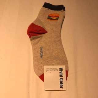 Burger Cute Socks
