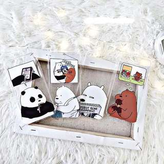 We Bare Bears Clear Soft Case