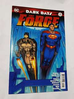 DARK DAYS DARK NIGHTS THE FORGE DC COMICS